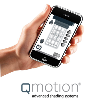 Qmotion motorized blinds